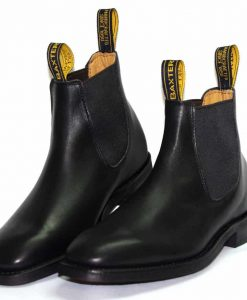 boot-Saddler-Black